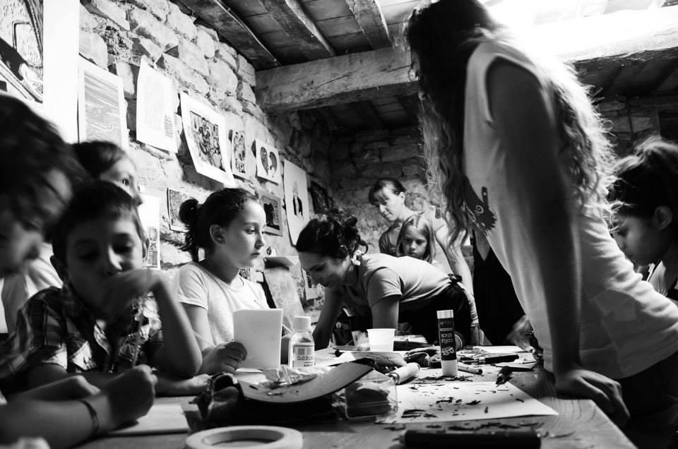 workshop di incisione e stampa Bacciardi • festival delle pecore a puà